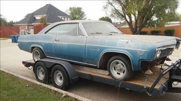 1966 Chevrolet Impala For Sale  Carsforsalecom