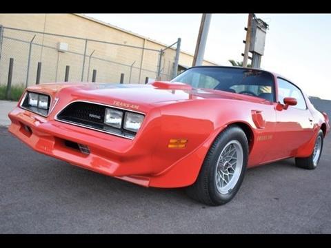 1978 Pontiac Trans Am for sale in Cadillac, MI