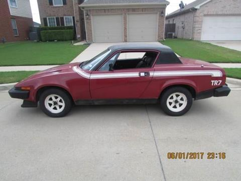 1976 Triumph TR7 for sale in Cadillac, MI