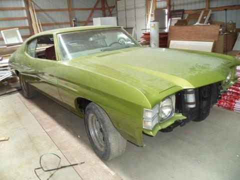 1971 Chevrolet Malibu for sale in Cadillac, MI