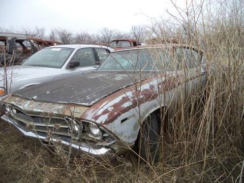 1969 Chevrolet Malibu for sale in Cadillac, MI