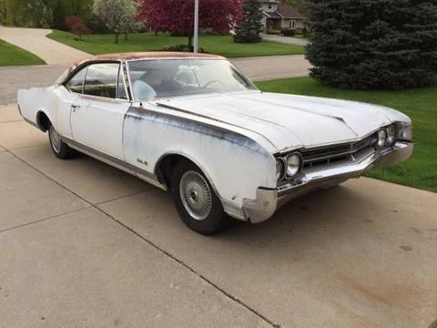1966 Oldsmobile Delta Eighty-Eight for sale in Cadillac, MI