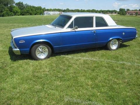 1966 Plymouth Valiant for sale in Cadillac, MI