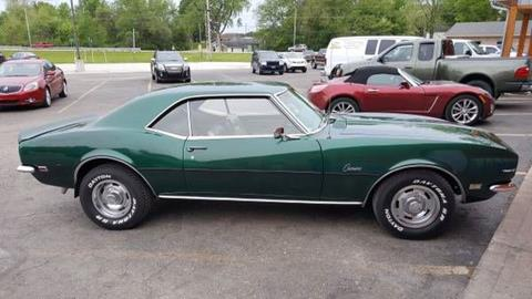 1968 chevrolet camaro for sale. Black Bedroom Furniture Sets. Home Design Ideas