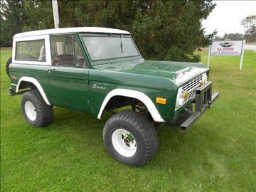 1972 Ford Bronco For Sale  Carsforsalecom