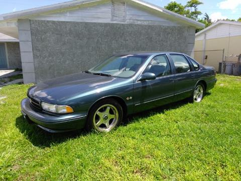 1995 Chevrolet Impala for sale in Cadillac, MI