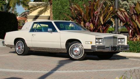 1984 Cadillac Eldorado For Sale In Britt Ia Carsforsale