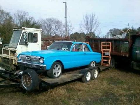 1962 Ford Falcon for sale in Cadillac, MI