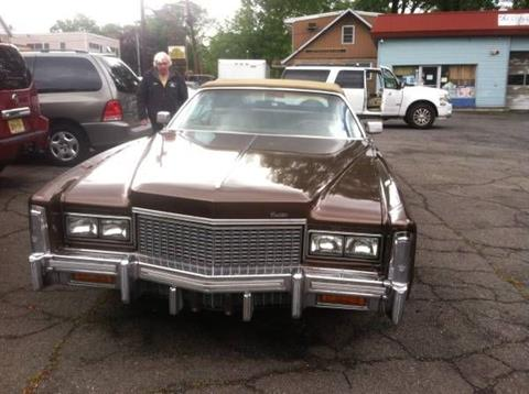 1976 Cadillac Eldorado for sale in Cadillac, MI