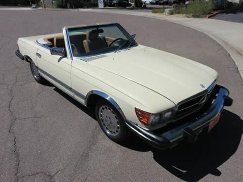 1980 Mercedes-Benz 450 SL for sale in Cadillac, MI