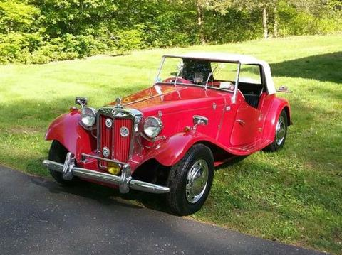 1953 MG TD for sale in Cadillac, MI