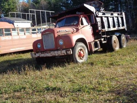 1952 Mack Dump Truck
