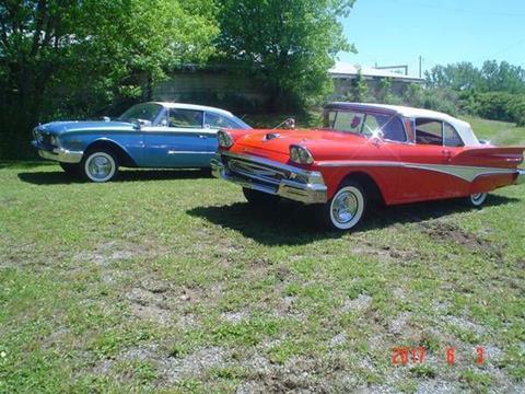 1958 Ford Fairlane 500 for sale in Cadillac, MI
