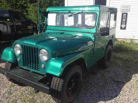 1962 Jeep CJ-7 for sale in Cadillac, MI