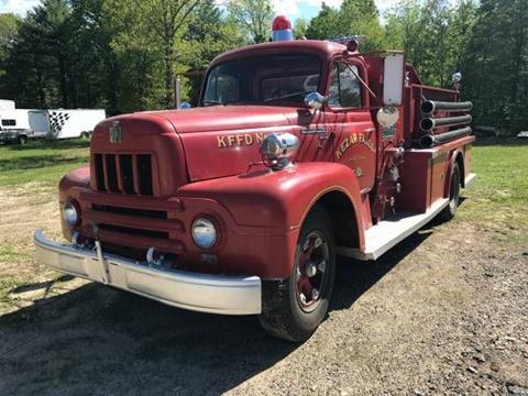 1962 International Fire Truck for sale in Cadillac, MI