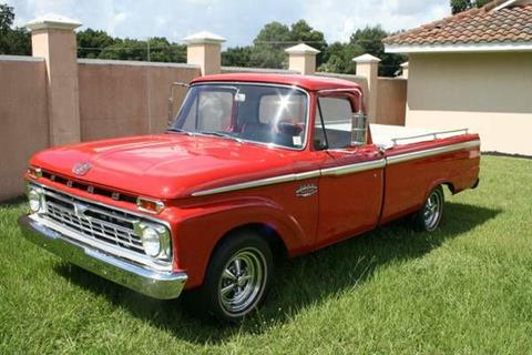 1966 Ford F-100 for sale in Cadillac, MI