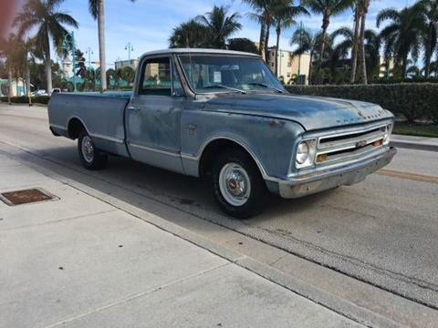 1967 Chevrolet C/K 10 Series for sale in Cadillac, MI