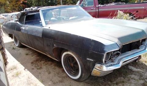 1970 Chevrolet Impala for sale in Cadillac, MI