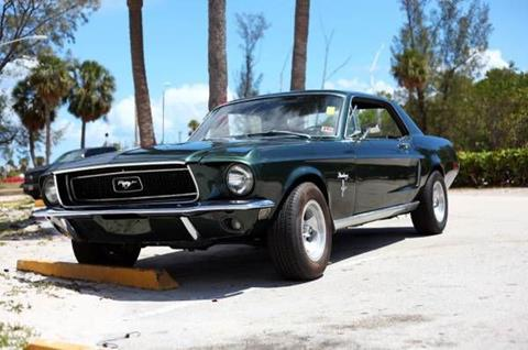 1968 Ford Mustang for sale in Cadillac, MI