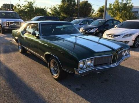 1970 Oldsmobile Cutlass for sale in Cadillac, MI