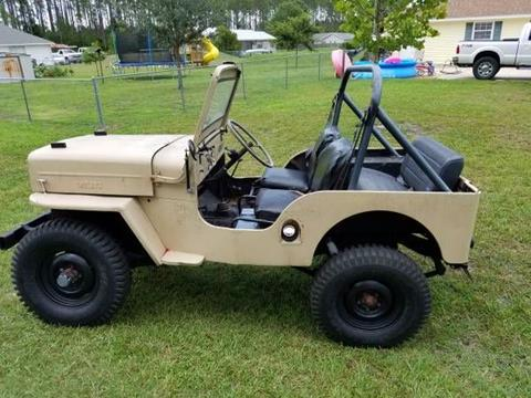 Willys jeep specs