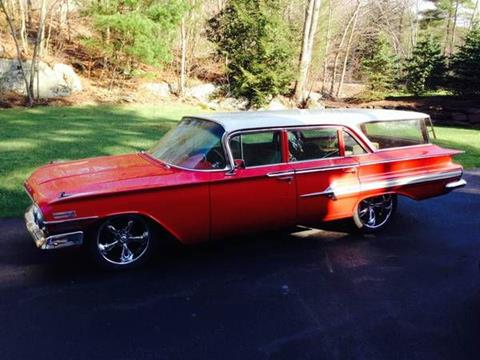 1960 Chevrolet Nomad for sale in Cadillac, MI