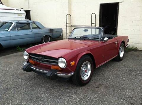 1974 Triumph TR6 for sale in Cadillac, MI