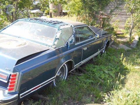 1979 Lincoln Continental for sale in Cadillac, MI