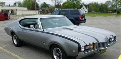 1968 Oldsmobile Cutlass for sale in Cadillac, MI