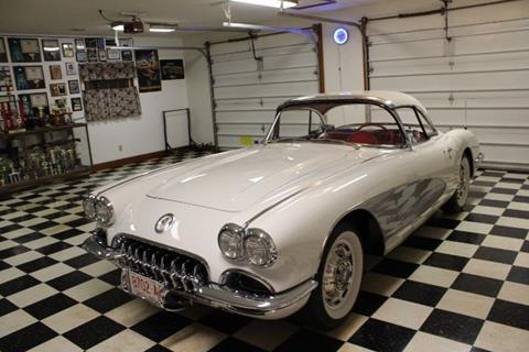 1960 Chevrolet Corvette for sale in Cadillac, MI