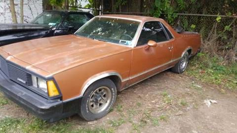 1981 Chevrolet El Camino for sale in Cadillac, MI