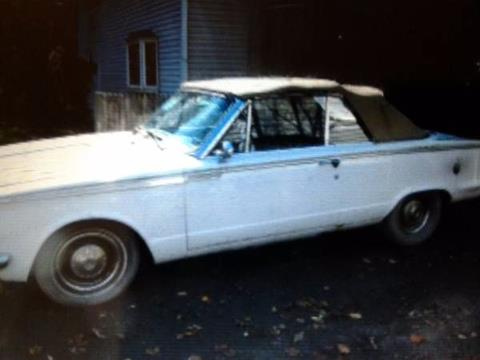 1965 Plymouth Valiant for sale in Cadillac, MI