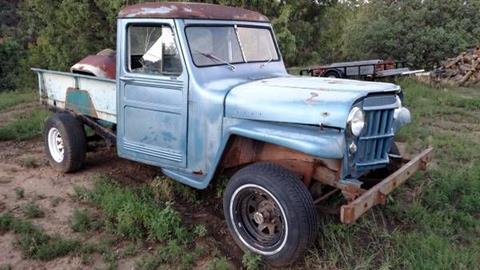 Willys Jeep Truck For Sale >> 1955 Willys Jeep For Sale In Cadillac Mi