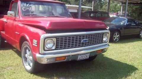 1972 Chevrolet C/K 10 Series for sale in Cadillac, MI