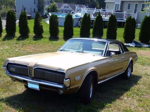 1968 Mercury Cougar for sale in Cadillac, MI