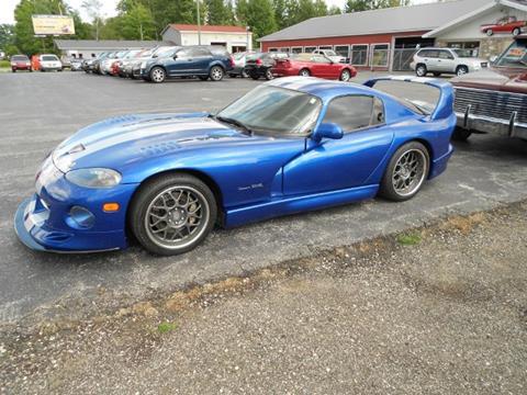 Viper Gts For Sale >> Used Dodge Viper For Sale In Michigan Carsforsale Com