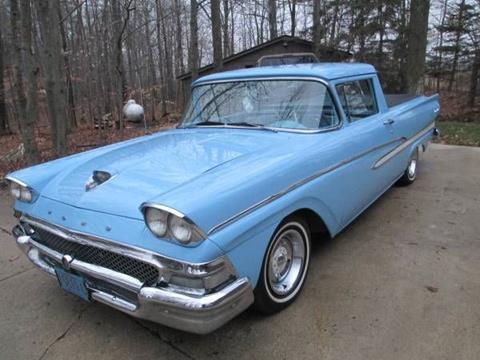 1958 ford ranchero for sale in cadillac mi - 1958 Ford Ranchero For Sale