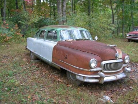 1951 Nash Ambassador for sale in Cadillac, MI