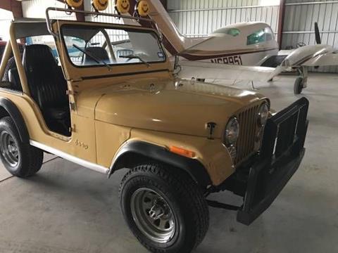 1980 Jeep CJ-5 for sale in Cadillac, MI