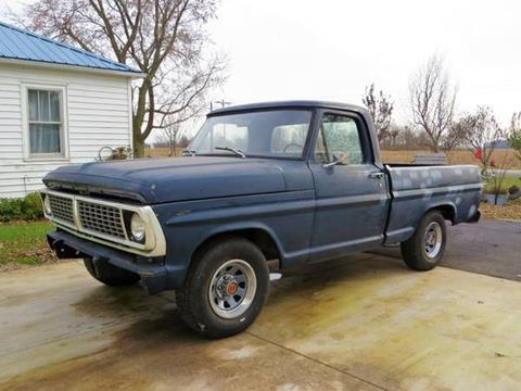 Used 1970 Ford F 100 For Sale In Roanoke Va Carsforsale Com