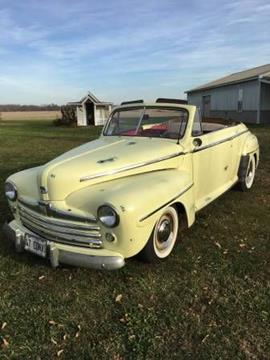 1947 Ford Super Deluxe for sale in Cadillac, MI
