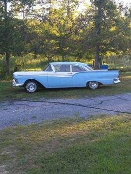 1957 Ford Fairlane 500 for sale in Cadillac, MI