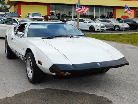 1973 De Tomaso Pantera for sale in Cadillac, MI
