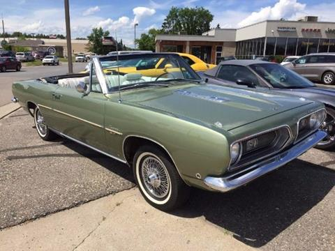 1968 Plymouth Barracuda for sale in Cadillac, MI