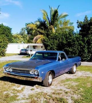 1967 Chevrolet El Camino for sale in Cadillac, MI