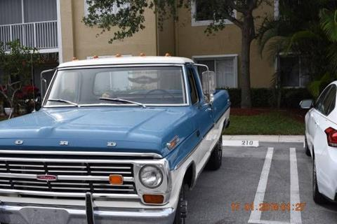 1968 Ford F-250 for sale in Cadillac, MI