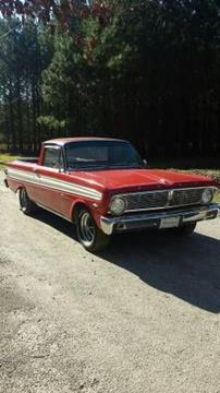 1965 ford ranchero for sale in cadillac mi