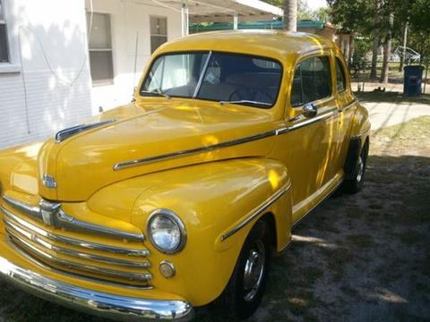 1948 Ford Super Deluxe for sale in Cadillac, MI