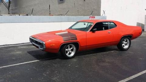 1972 Plymouth Roadrunner for sale in Cadillac, MI