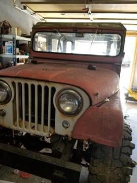 1963 Jeep CJ-5 for sale in Cadillac, MI